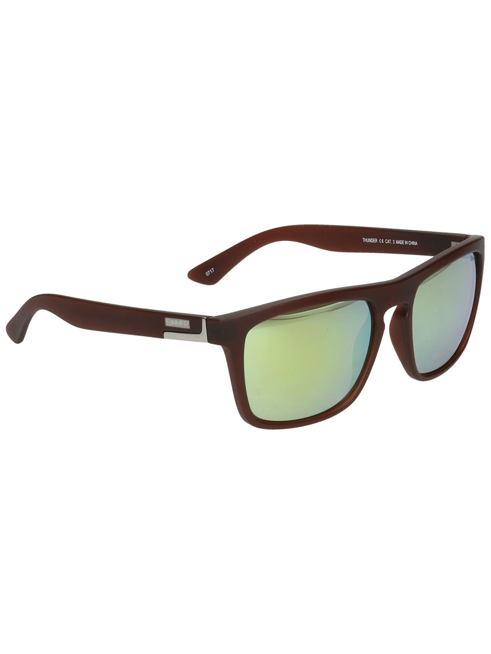 Thunder Cry Matte Brown Sonnenbrille