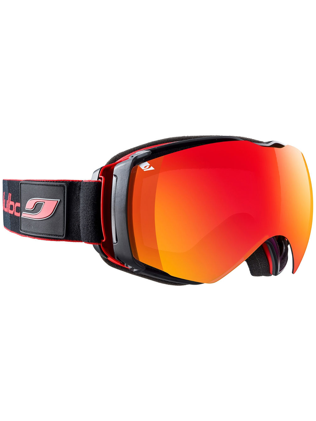 Airflux Black/Red Goggle