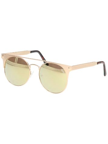 Quay Australia The In Crowd Gold Sonnenbrille