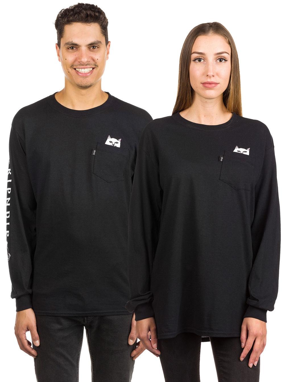 b02acea00a76 Buy Rip N Dip Lord Nermal Pocket Long Sleeve T-Shirt online at Blue ...