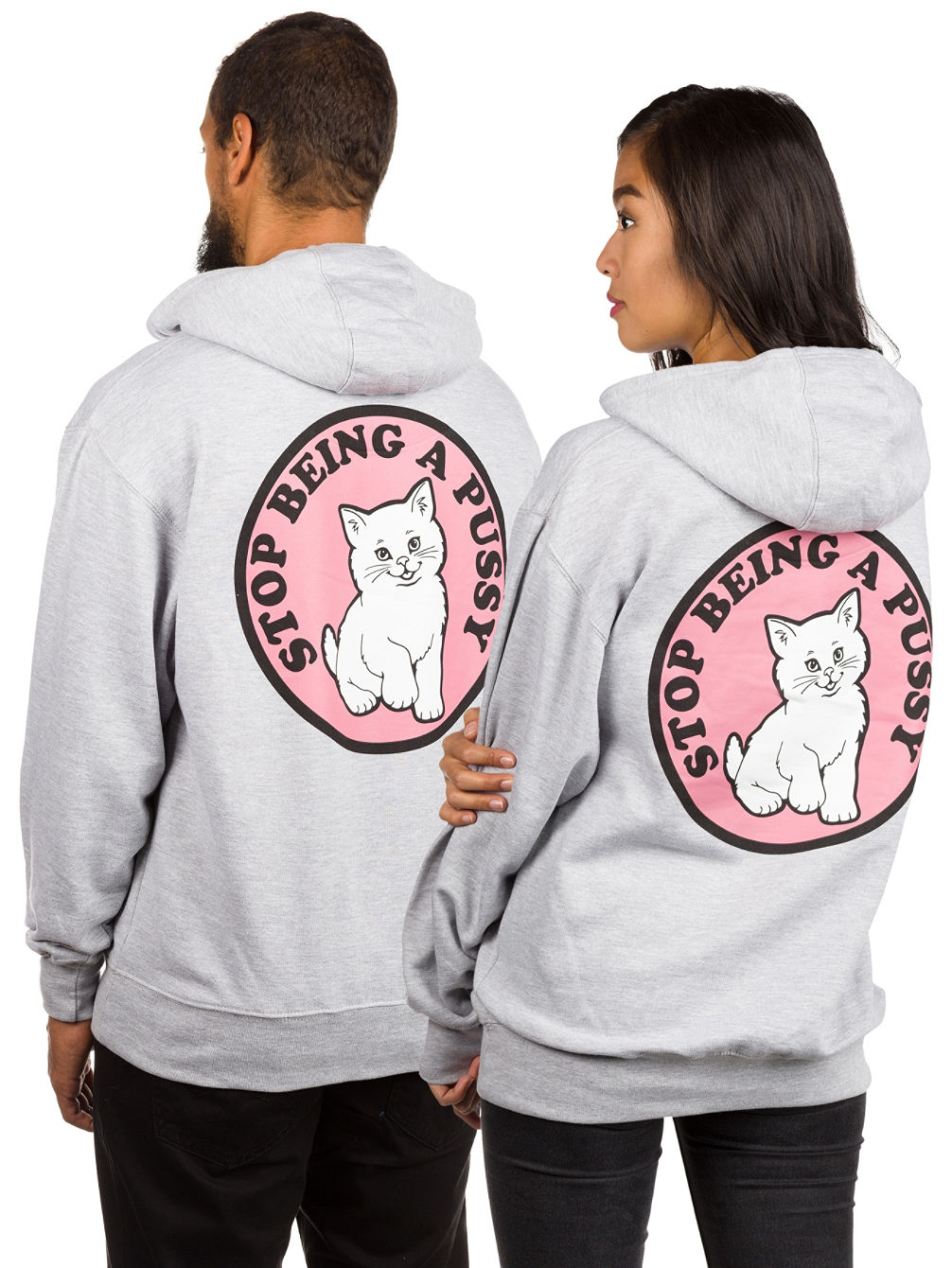 Stop Being a Pussy Sudadera con Capucha