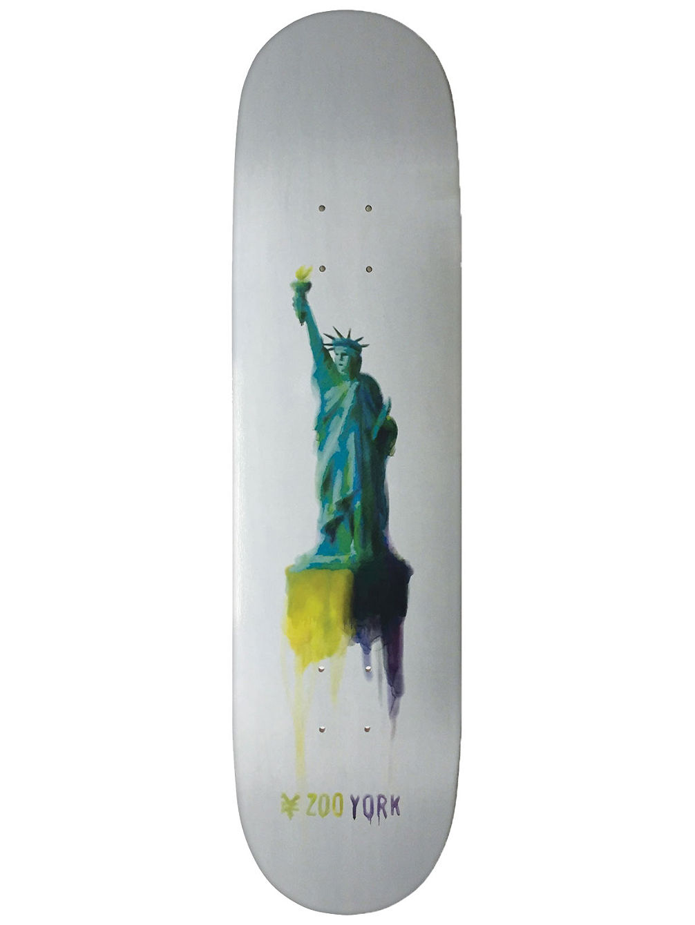 "Water Color Liberty 8.25"" Skate Deck"