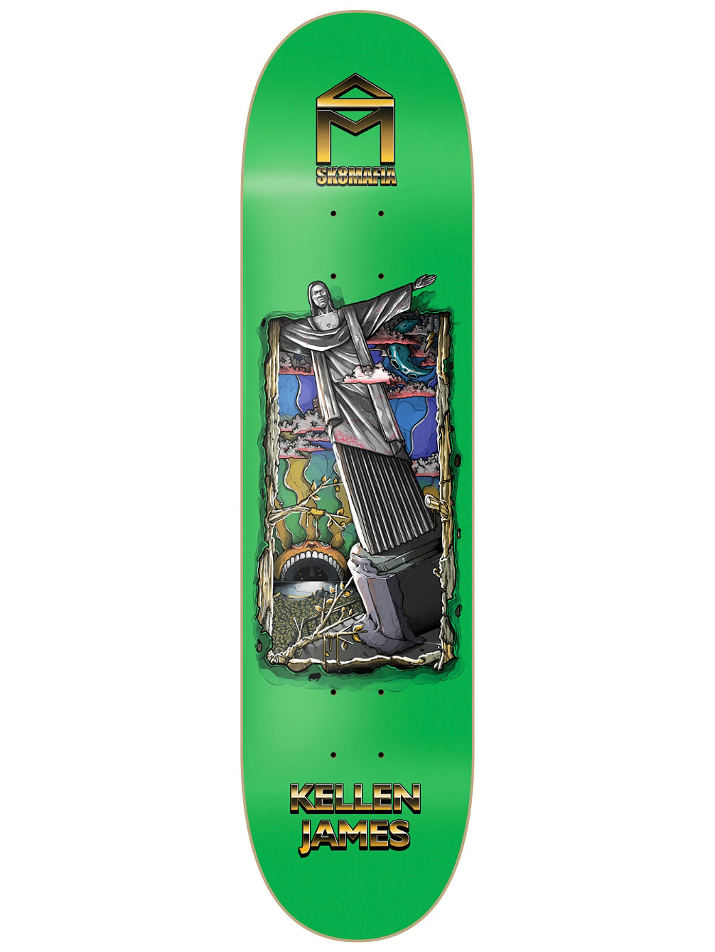 7 Wonders James 8.0'' Skate Deck