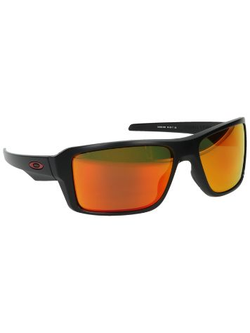Oakley Double Edge Matte Black Sonnenbrille