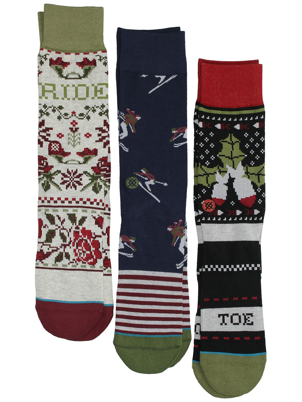 Holiday 3 Pack Socks