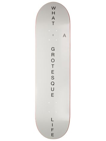 Grotesque What a Grotesque Life 8.0 Skate Deck