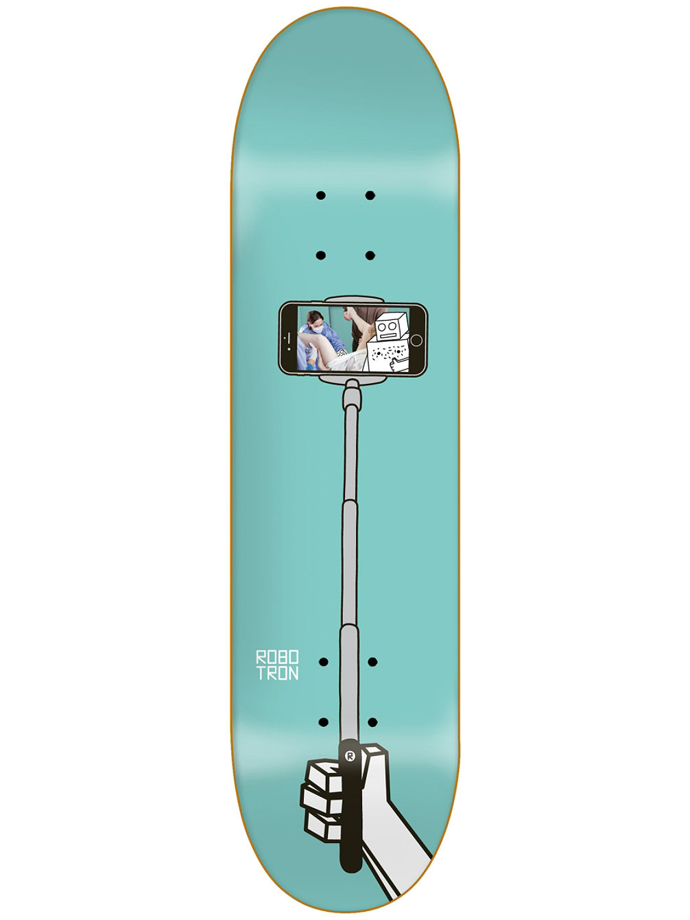 Selfie Stick Happy Birthday 8.3'' Skate Deck
