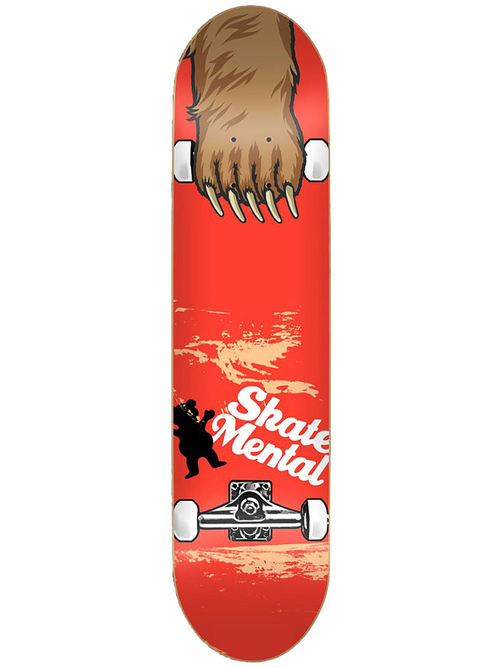 "X Mental Maul Grab 8.25"" Skate Deck"