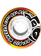 Street Cruisers Yellow Orange Swirl 88A 53mm