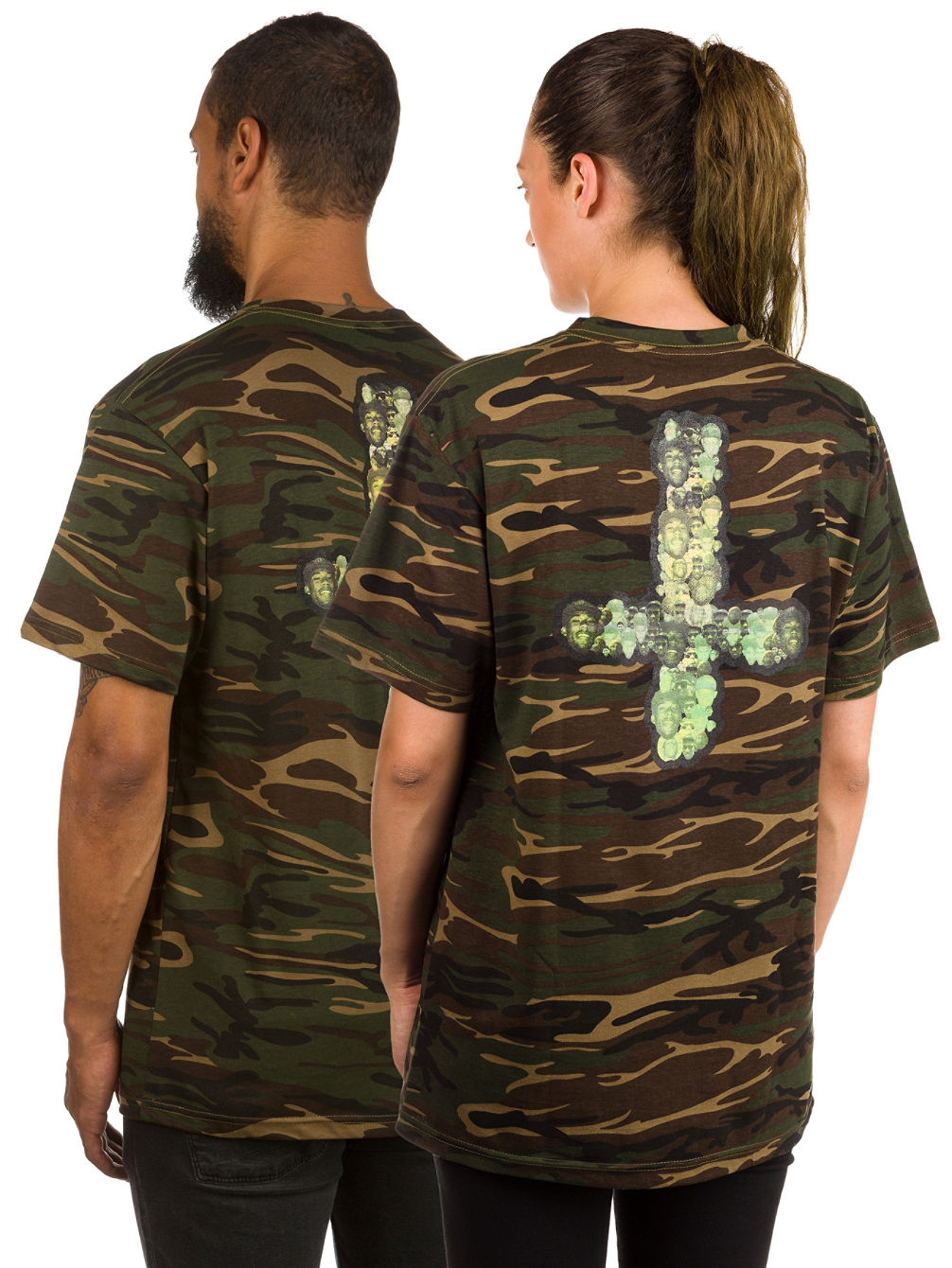 Mellowhype 65 Camo Camiseta
