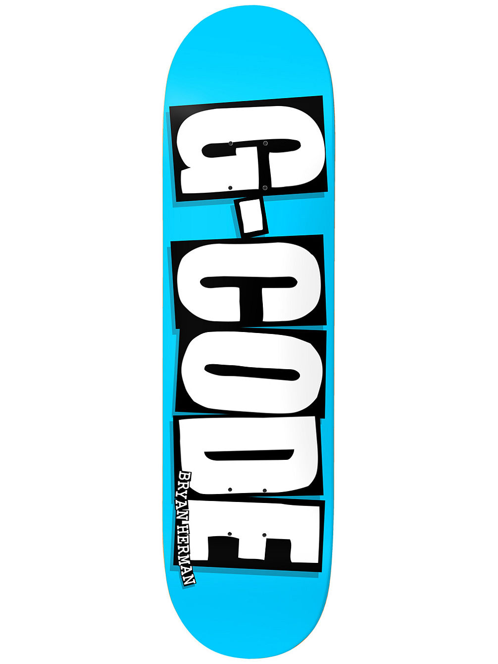 "Herman G-Code Blue 8.125"" Skate Deck"