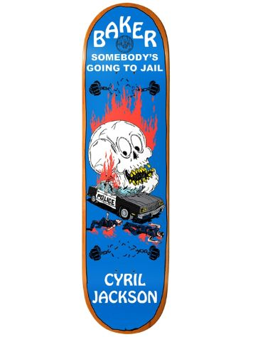 Baker Cyril Going To Jail 8.125 Skate Deck