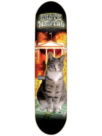 "Skate Mental No Limit 8.0"" Skate Deck"