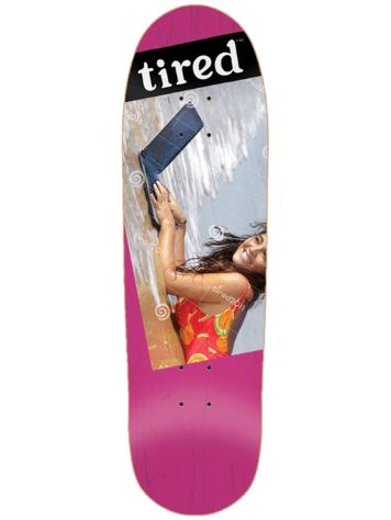 "Tired Laptop On Deal 8.75"" Skate Deck"