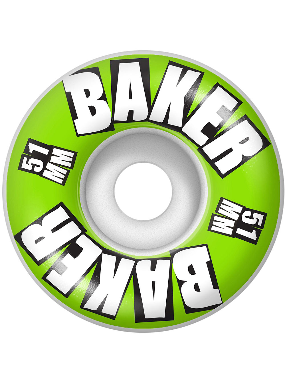 Brand Logo Lime 51mm Wheels