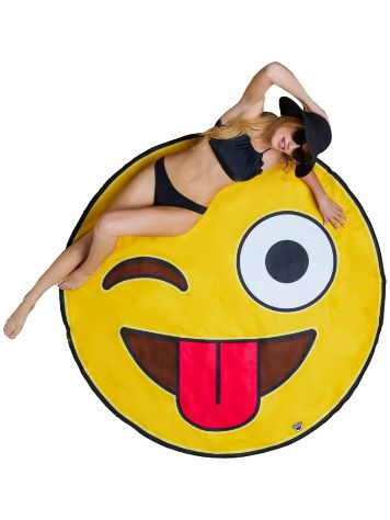 Big Mouth Toys Emoji Beach Handtuch