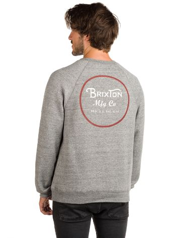 Brixton Wheeler Crew Fleece Sweater