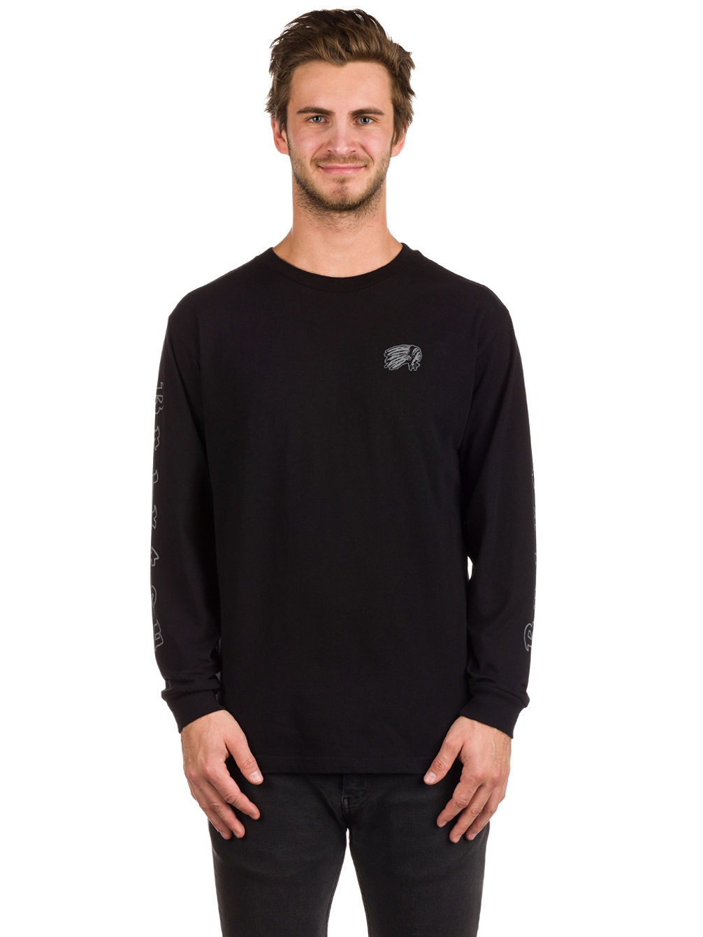 6f548ace9539 Buy Brixton Primo Prem Long Sleeve T-Shirt online at Blue Tomato