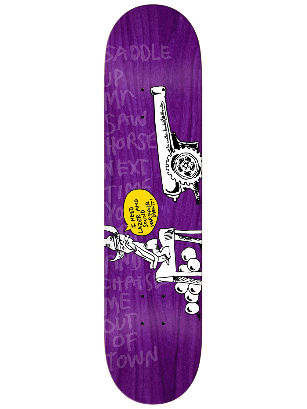 "Horsepower S.Walker 8.18"" Skate Deck"