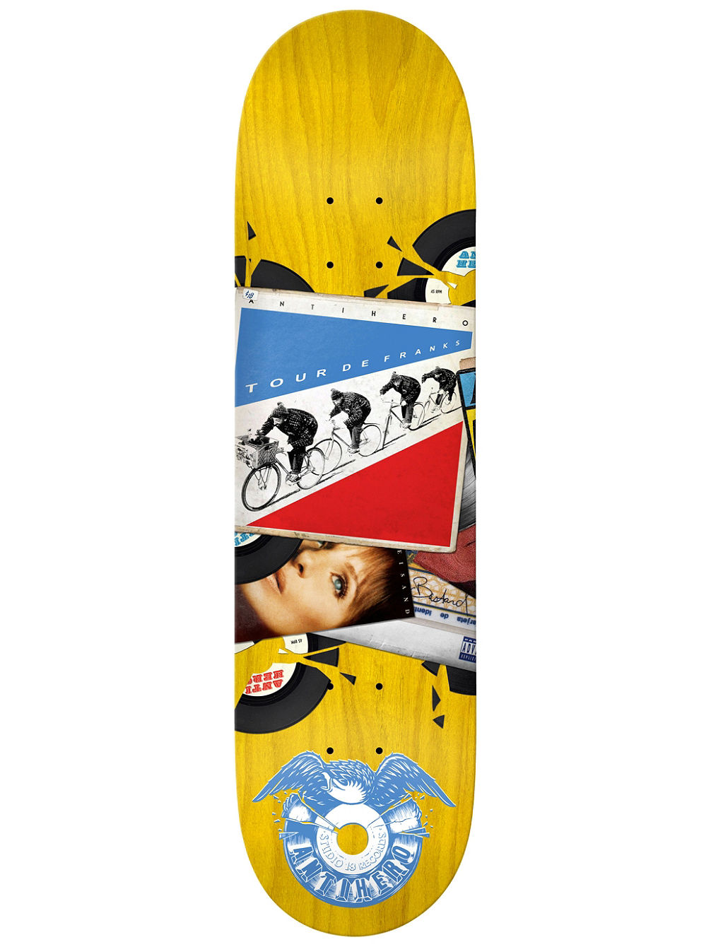 "Studio 18 Records Gerwer 8.25"" Skate Deck"