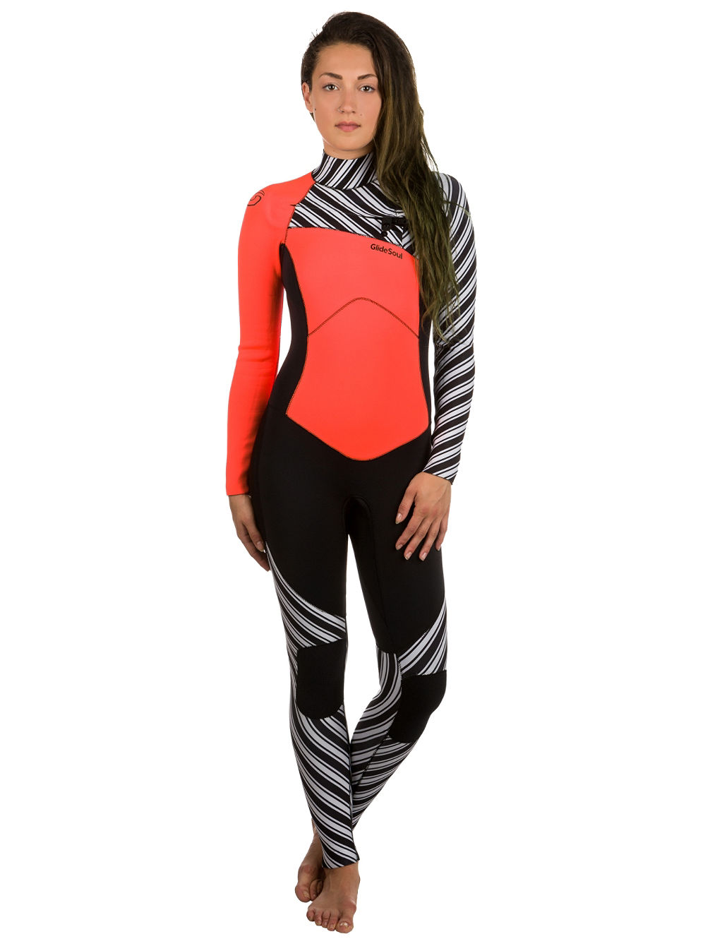 Full 3mm Chest Zip Wetsuit