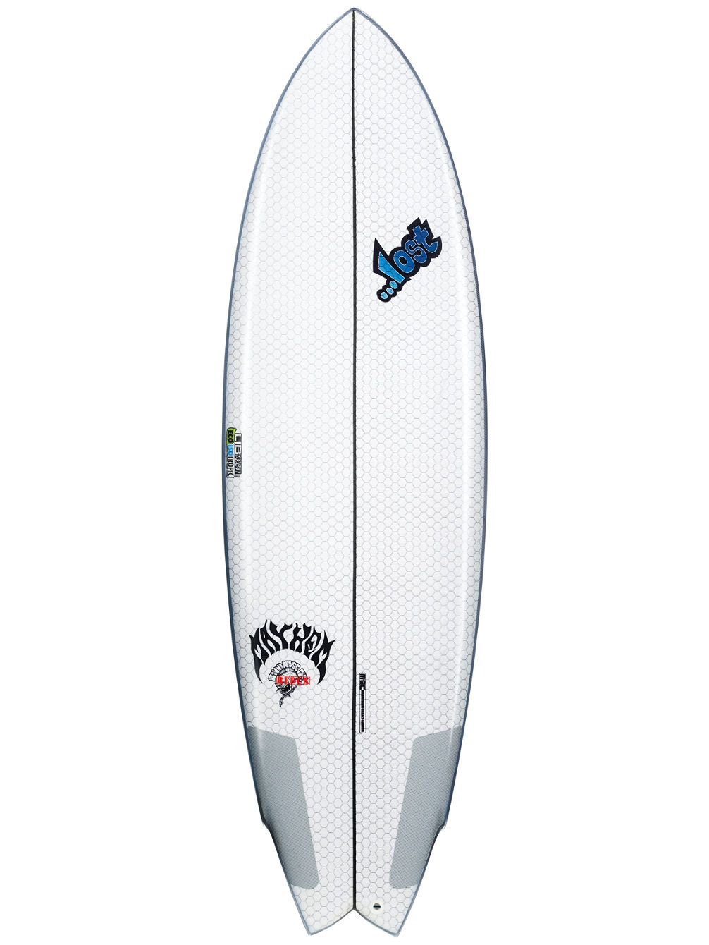 Lib X Lost Round Nose Fish 5.8 Surfboard