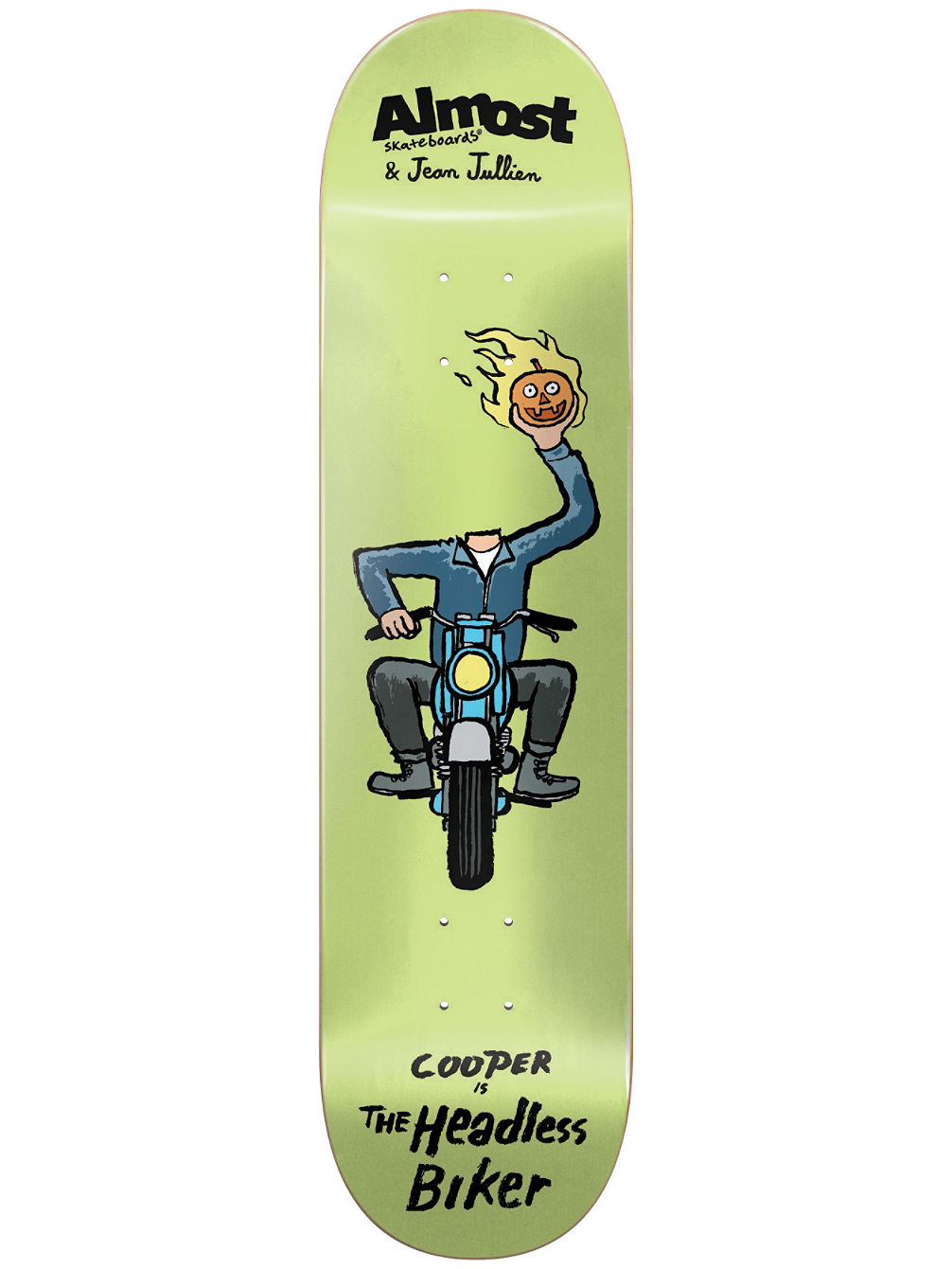 Jean Jullien Monsters R7 8.375'' Skate Deck