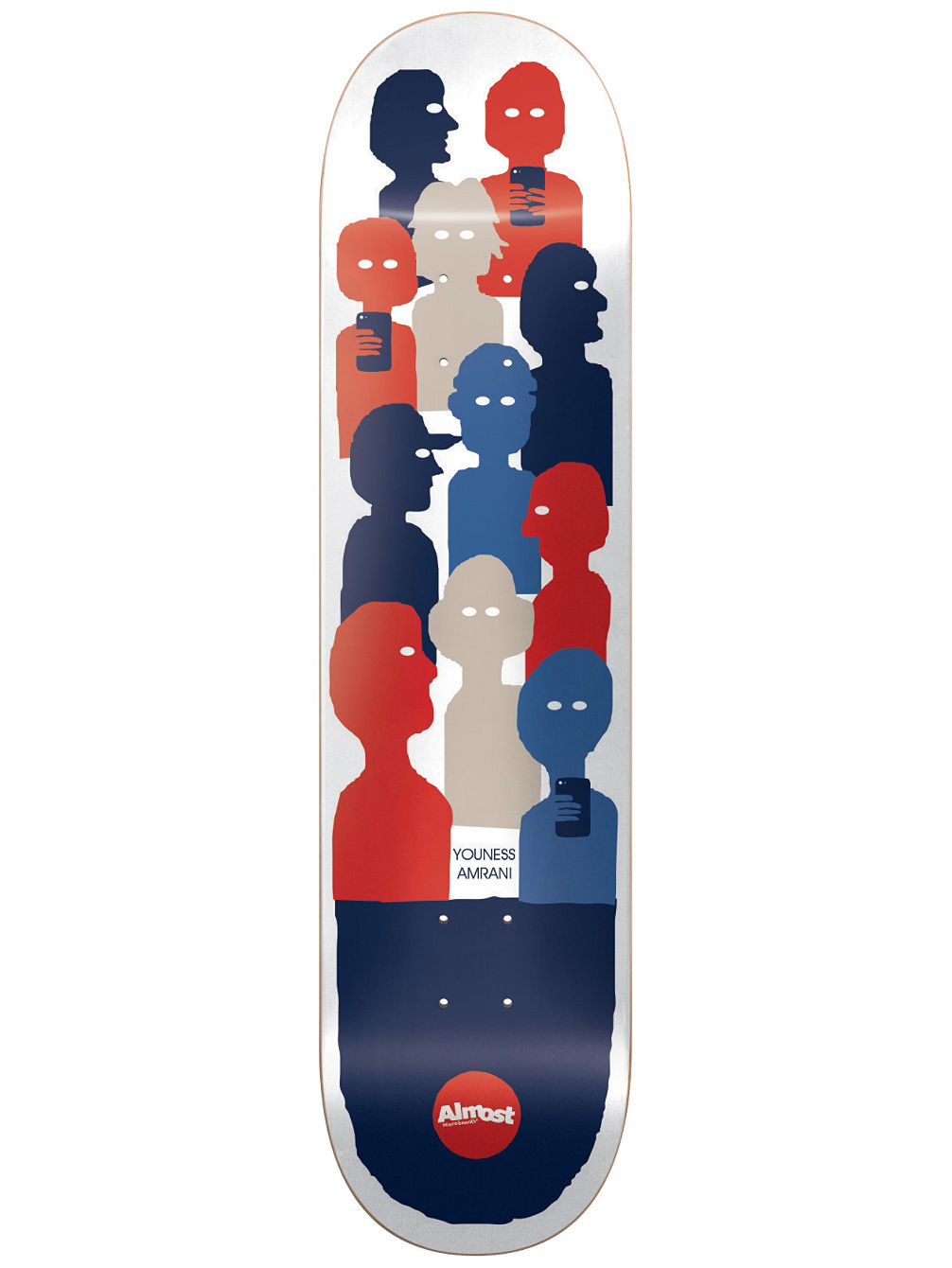 Buy almost group text impact light 80 skate deck online at blue group text impact light 80amp039amp aloadofball Choice Image