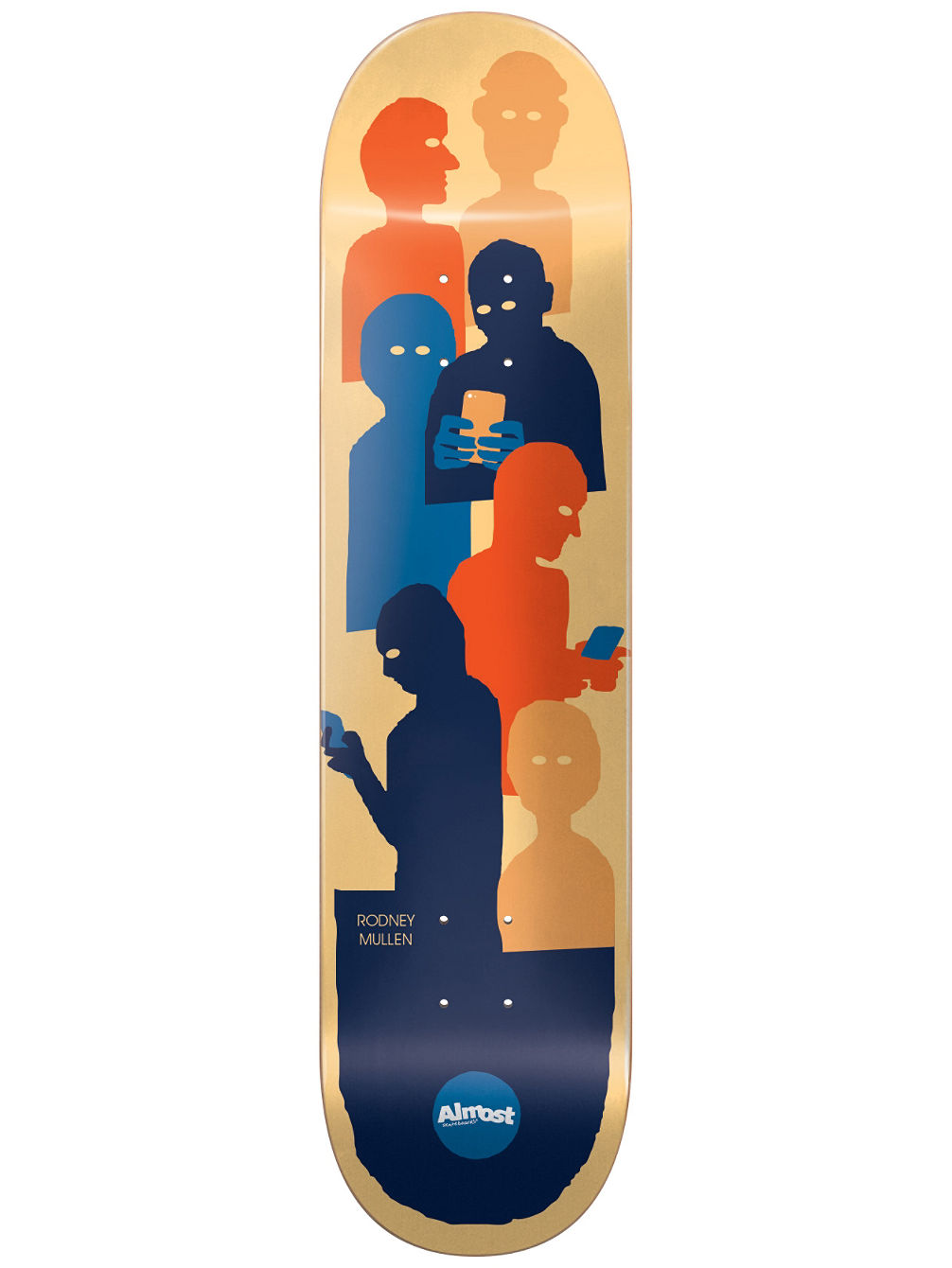 Goup Text Impact Light 8.25'' Skate Deck