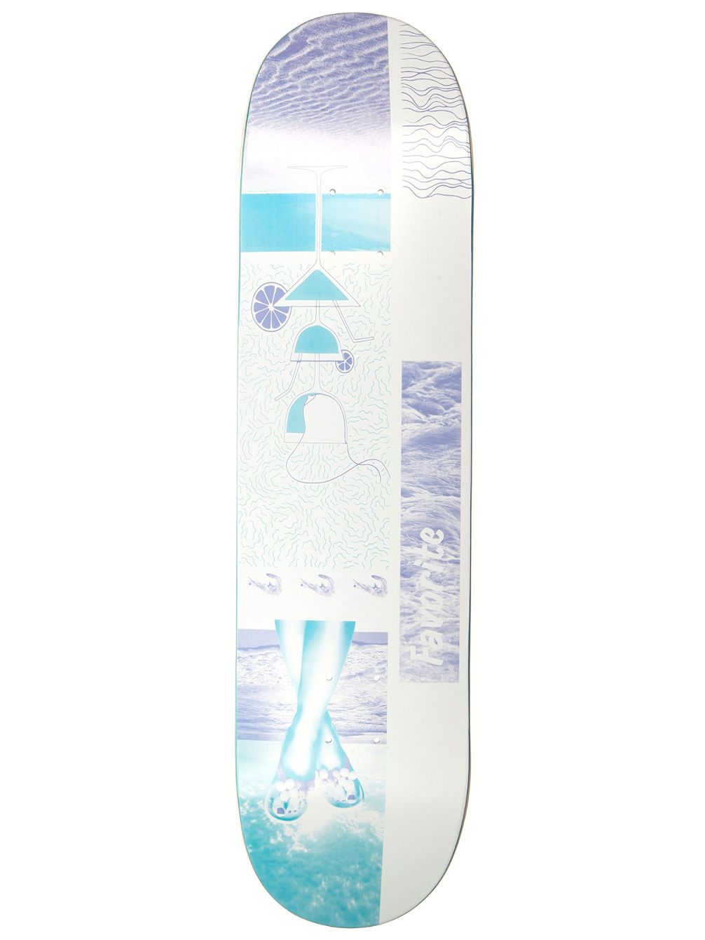 "East Beach 8.0"" Skate Deck"