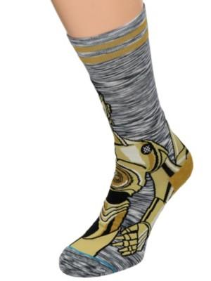 Stance Android Star Wars Socks grey Gr. M