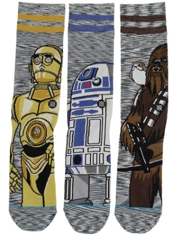 Stance Sw Sidekick 3 Pack Star Wars Calcetines