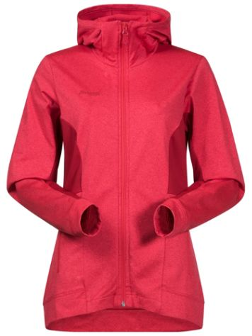 Bergans Lom Fleece Hooded Outdoorjacke