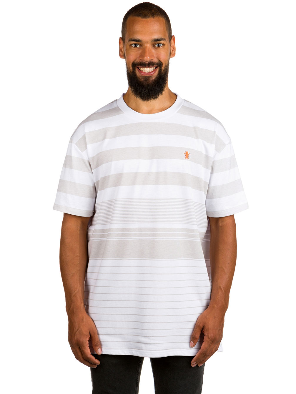Manta Ray Striped Knit T-Shirt
