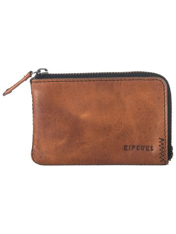 Rip Curl Handcrafted Zip Coin Slim Wallet