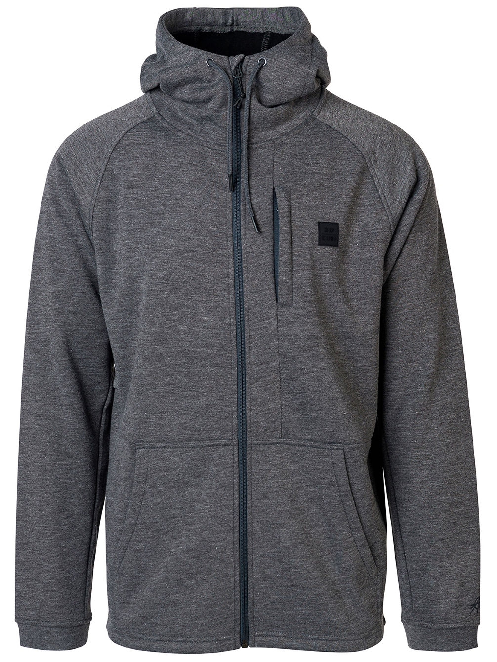 Busy Surf Day Zip Hoodie