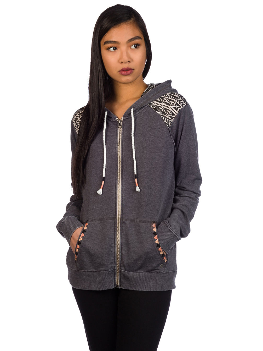 Black Sands Beach Zip Hoodie