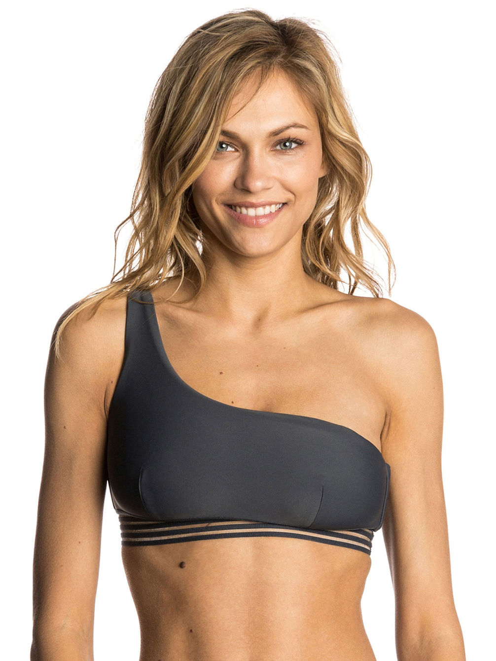 Illusion One Strap Top Bikini Top