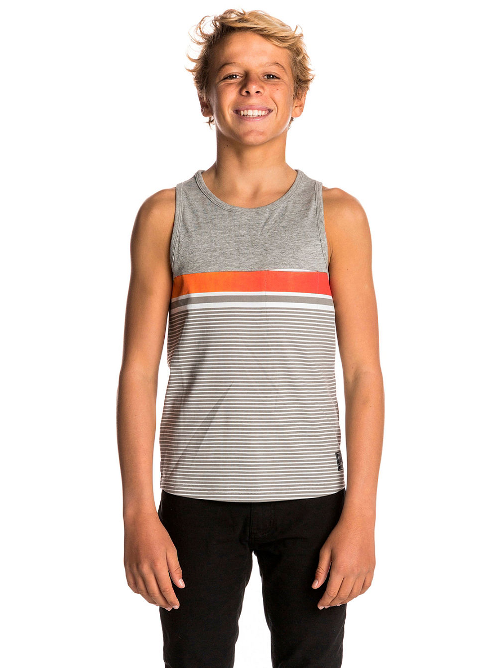 Gradian Stripe Tank Top Boys
