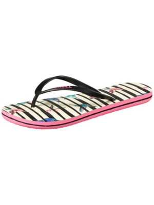 O'Neill Summer Print Sandals Women white aop w / pink w blue Damen Gr. 38.0 EU