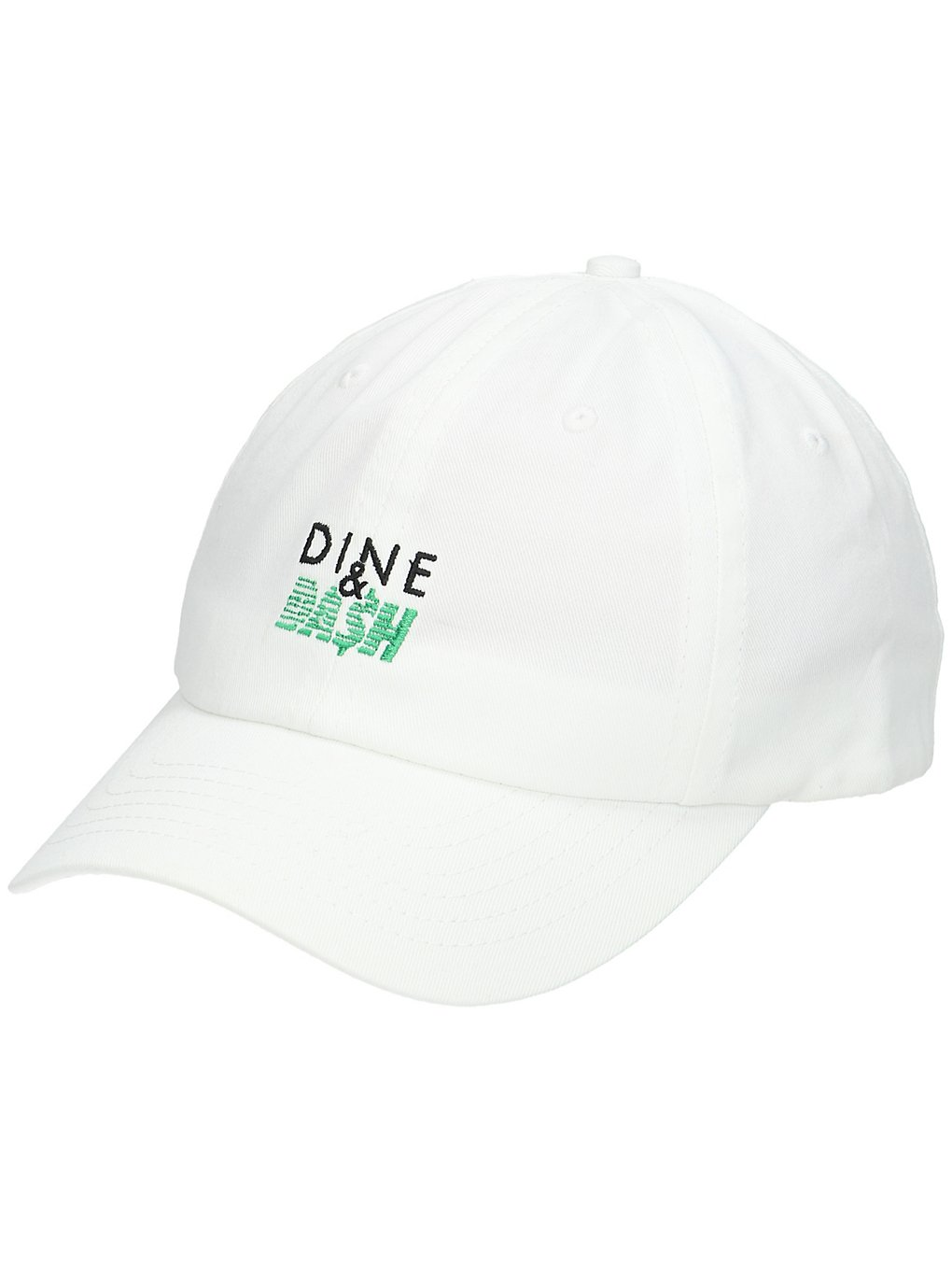 Image of Made in Paradise Dine n Dash Dad Hat Cap bianco