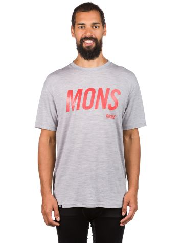Mons Royale Merino Icon Slant T-Shirt