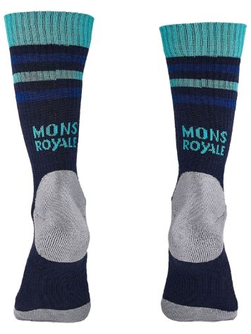 Mons Royale Merino Signature Crew Funktionssocken
