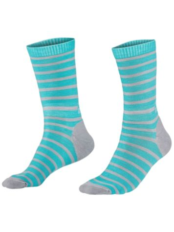 Mons Royale Merino All Round Stripes Crew Tech Socks
