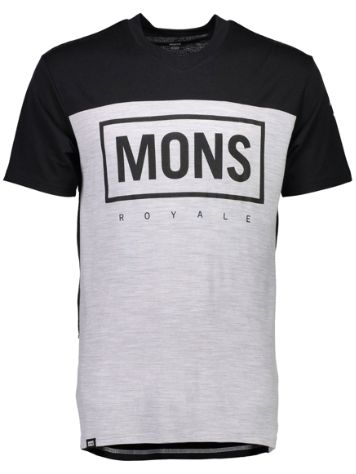 Mons Royale Merino Redwood V Box Funktionsshirt