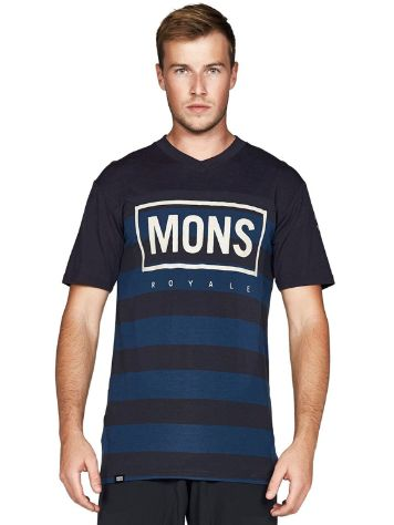 Mons Royale Merino Redwood V Box Tech Tee