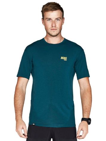 Mons Royale Merino Temple Slant Tech Tee