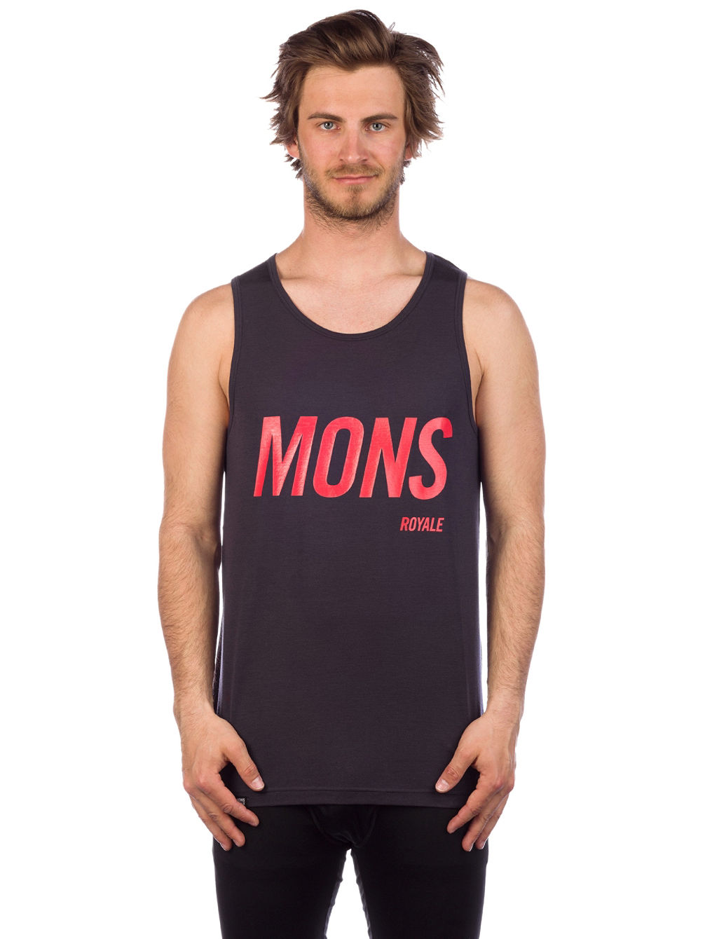 Merino Icon Slant Tank Top