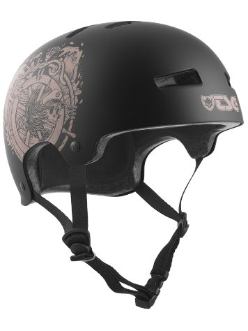 TSG Evolution Graphic Design Pirates Skate Helm