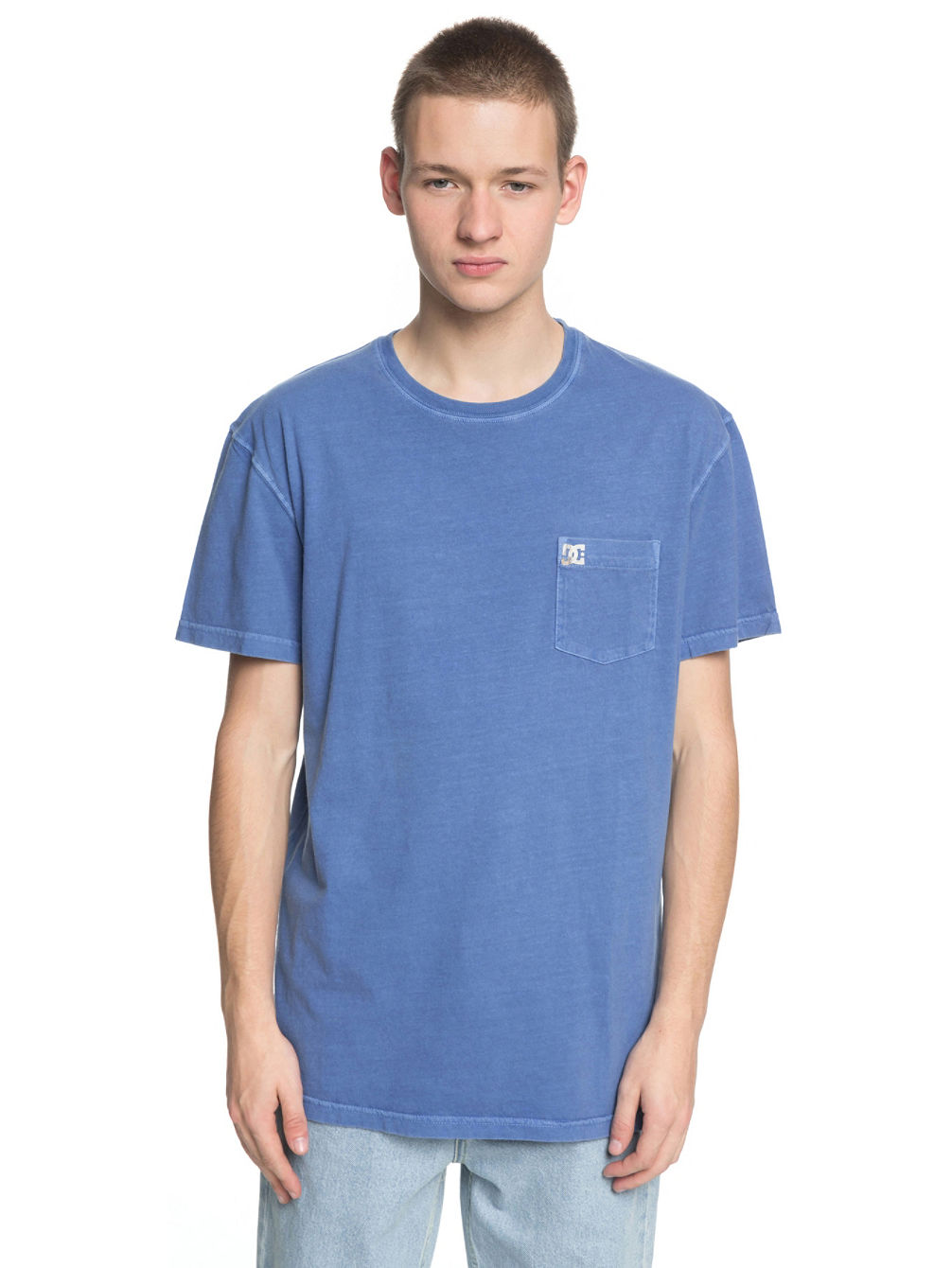 Dyed Pocket Crew T-Shirt